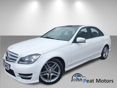 C Class C180 Blueefficiency Amg Sport Saloon 1.6 Automatic Petrol