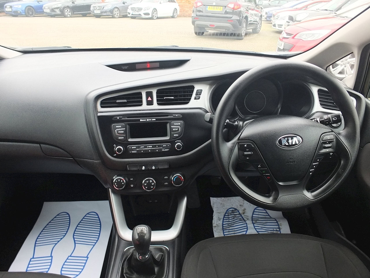 Ceed 1 Hatchback 1.4 Manual Petrol