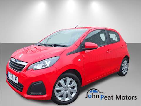 108 Active Hatchback 1.0 Manual Petrol