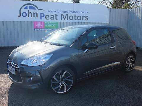 DS AUTOMOBILES DS 3 DStyle Nav Hatchback 1.2 Manual Petrol