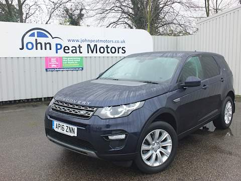 Land Rover Discovery Sport Td4 Se Tech Estate 2.0 Automatic Diesel