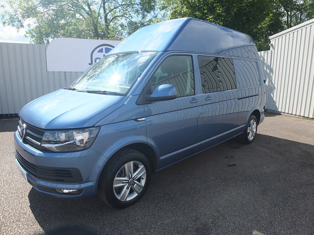 Transporter T32 Tdi Kombi Highline LWB BMT High Roof Crew Van 2 Manual Diesel