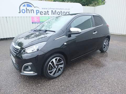 Peugeot 108 Feline Hatchback 1.2 Manual Petrol