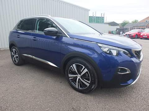 Peugeot 3008 Blue Hdi S/S Allure SUV 1.6 Manual Diesel