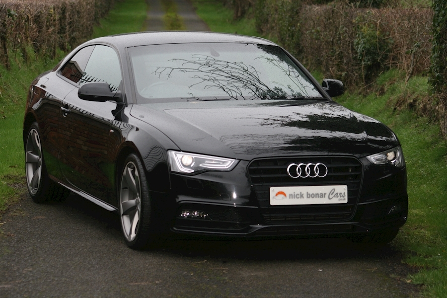 A5 Tdi Black Edition Coupe 2.0 Manual Diesel