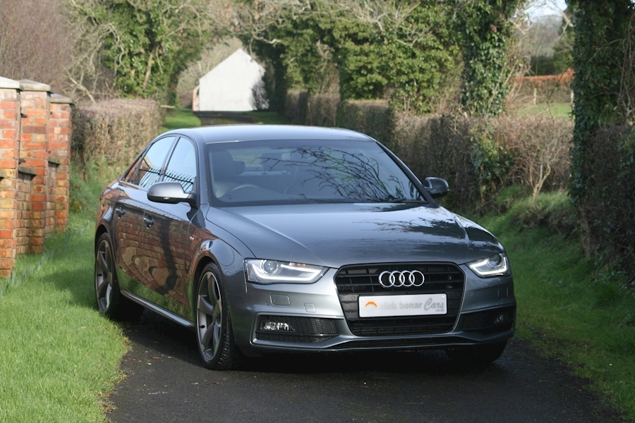 A4 Tdi S Line Black Edition Saloon 2.0 Manual Diesel