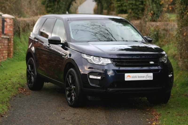 Land Rover Discovery Sport Td4 Hse Black Image 1