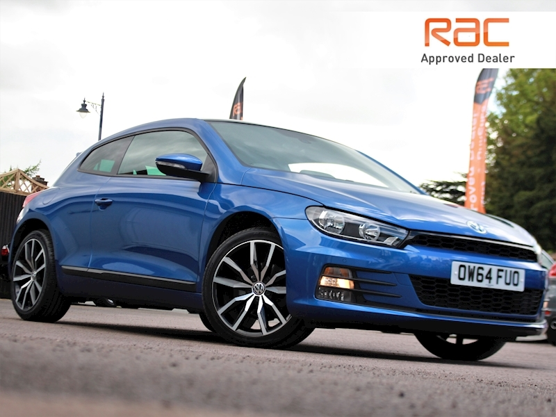 Scirocco Gt Tdi Bluemotion Technology Dsg Coupe 2.0 Semi Auto Diesel