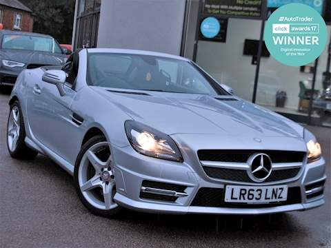 Slk Slk250 Cdi Blueefficiency Amg Sport Convertible 2.1 Automatic Diesel