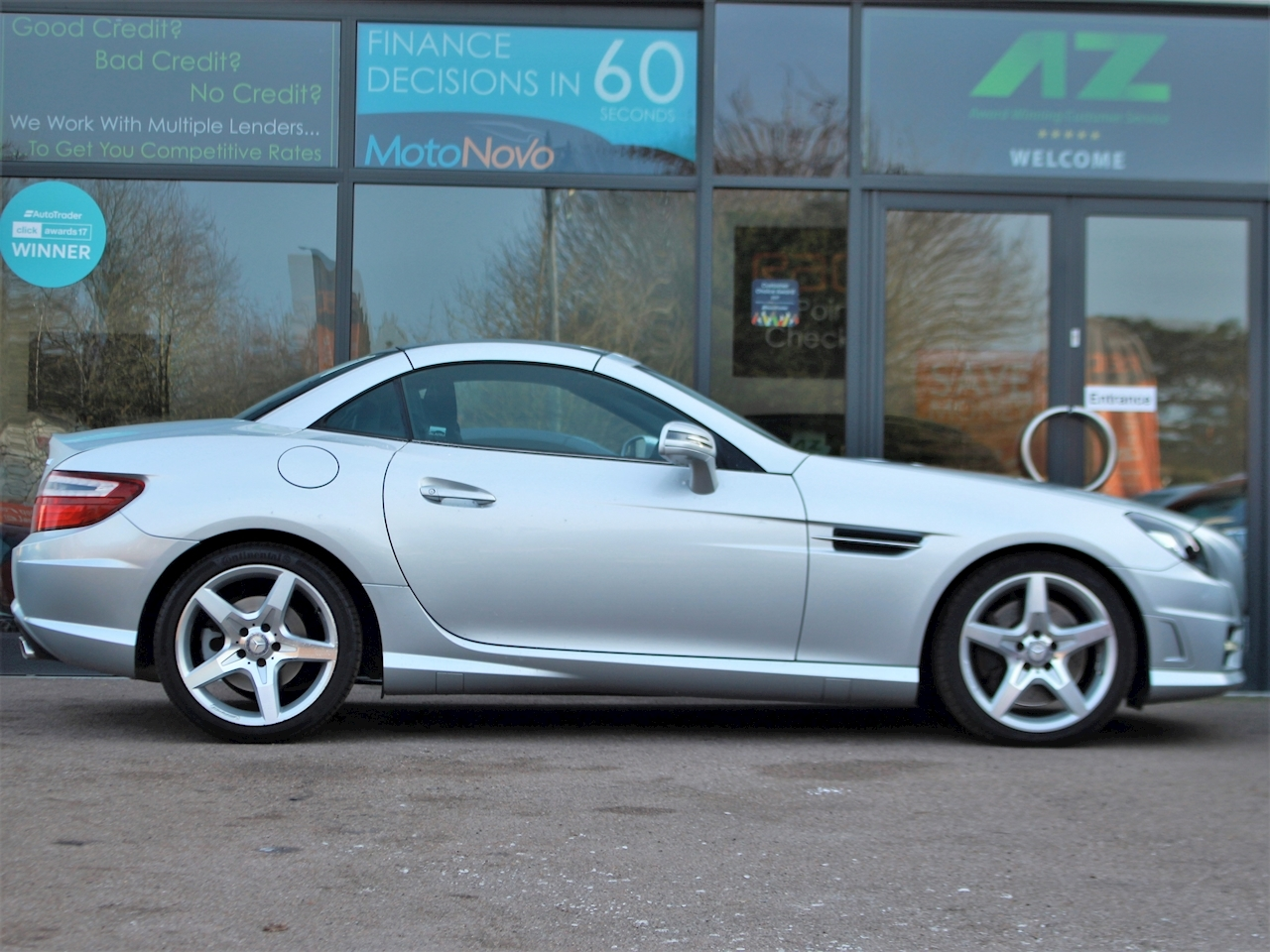 Mercedes Slk Slk250 Cdi Blueefficiency Amg Sport - Large 4