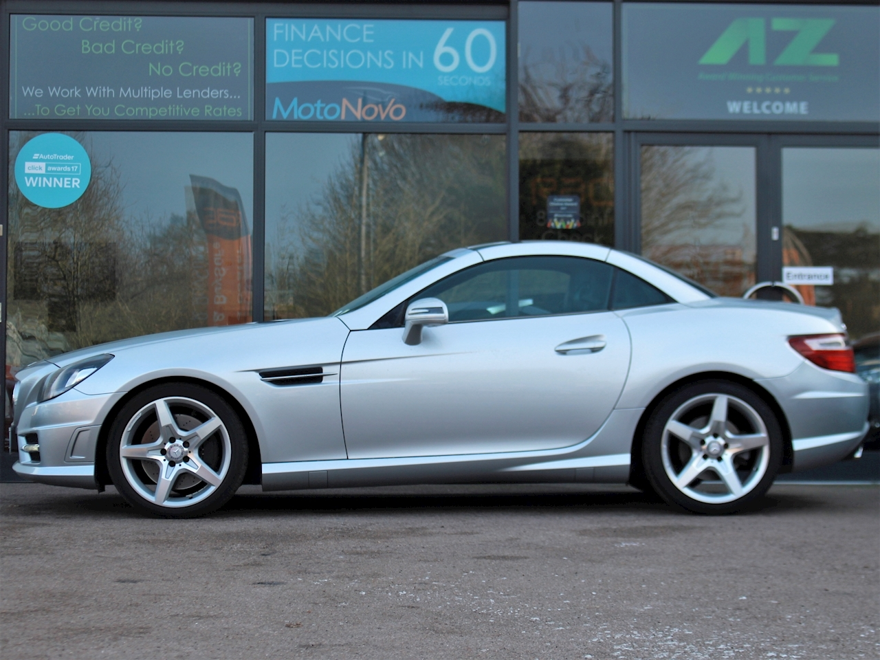 Mercedes Slk Slk250 Cdi Blueefficiency Amg Sport - Large 5