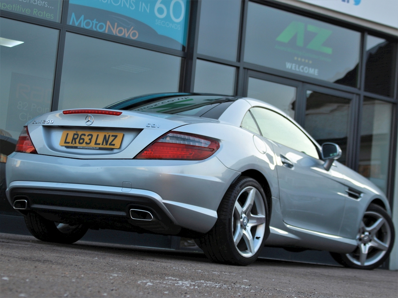 Mercedes Slk Slk250 Cdi Blueefficiency Amg Sport - Large 6