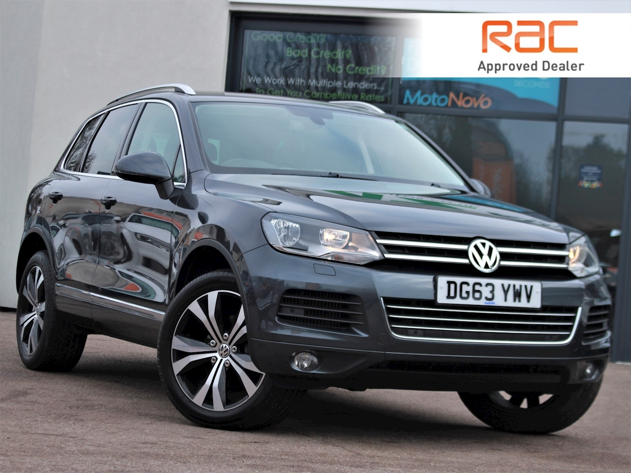 Volkswagen Touareg V6 Se Tdi Bluemotion Technology - Large 0