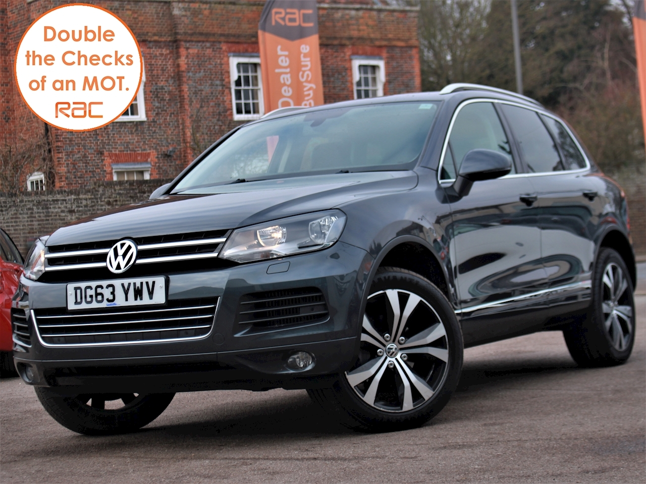 Volkswagen Touareg V6 Se Tdi Bluemotion Technology - Large 3
