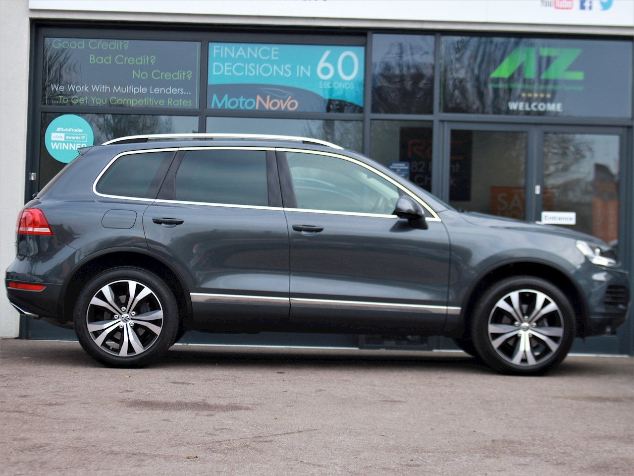 Volkswagen Touareg V6 Se Tdi Bluemotion Technology - Large 5