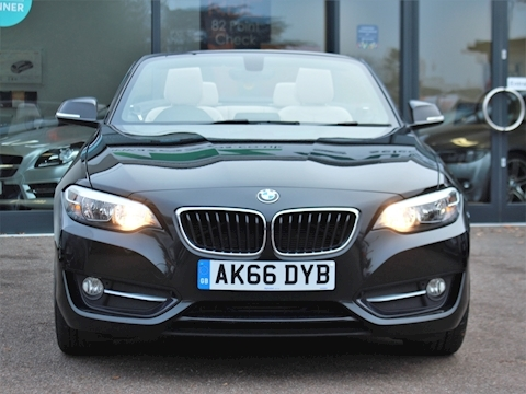 2 Series 220D Sport Auto Convertible 2.0 Automatic Diesel