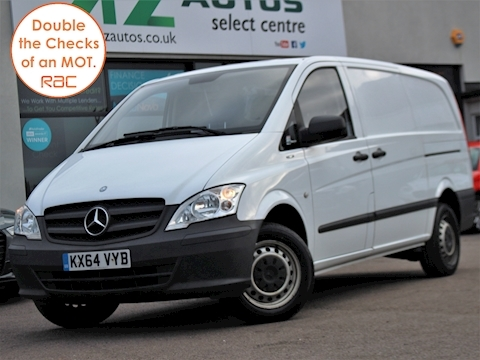 Vito 110 Cdi Blueefficiency Panel Van 2.1 Manual Diesel