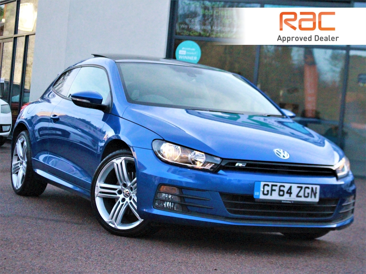 Volkswagen Scirocco R Line Tdi Bluemotion Technology Dsg - Large 0