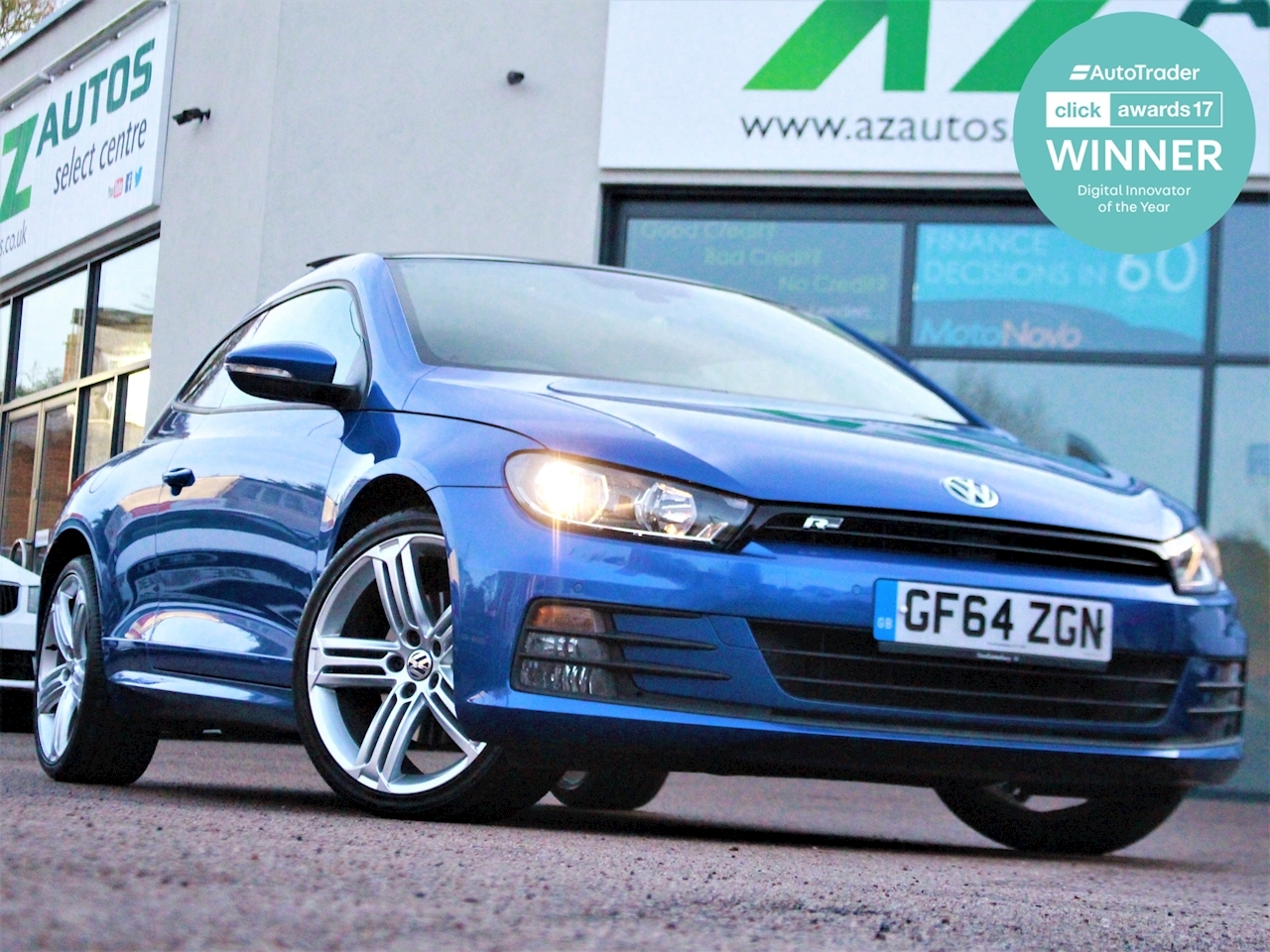 Volkswagen Scirocco R Line Tdi Bluemotion Technology Dsg - Large 1