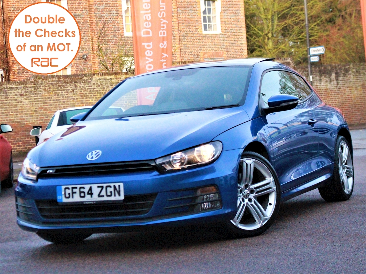 Volkswagen Scirocco R Line Tdi Bluemotion Technology Dsg - Large 4