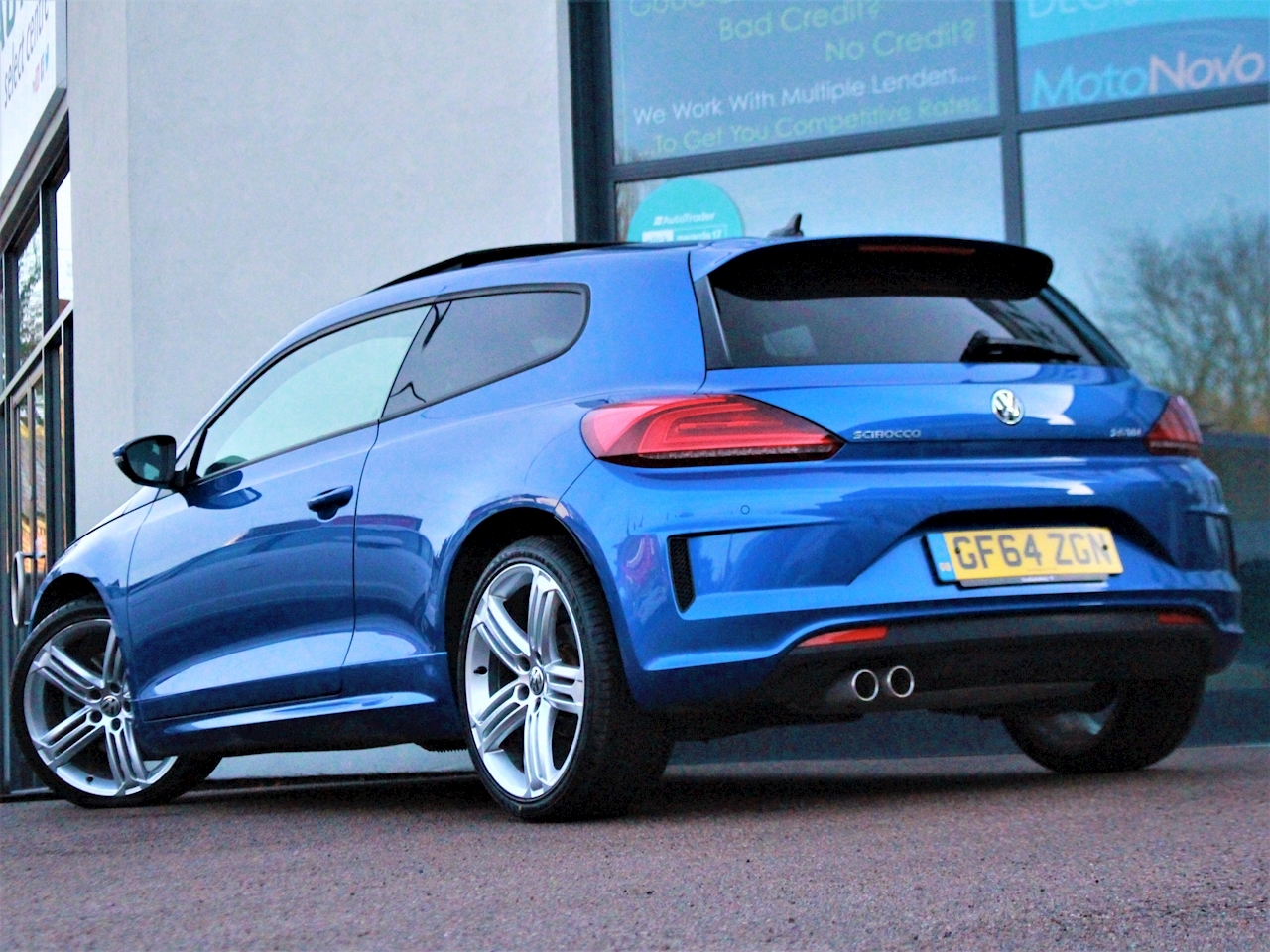 Volkswagen Scirocco R Line Tdi Bluemotion Technology Dsg - Large 8