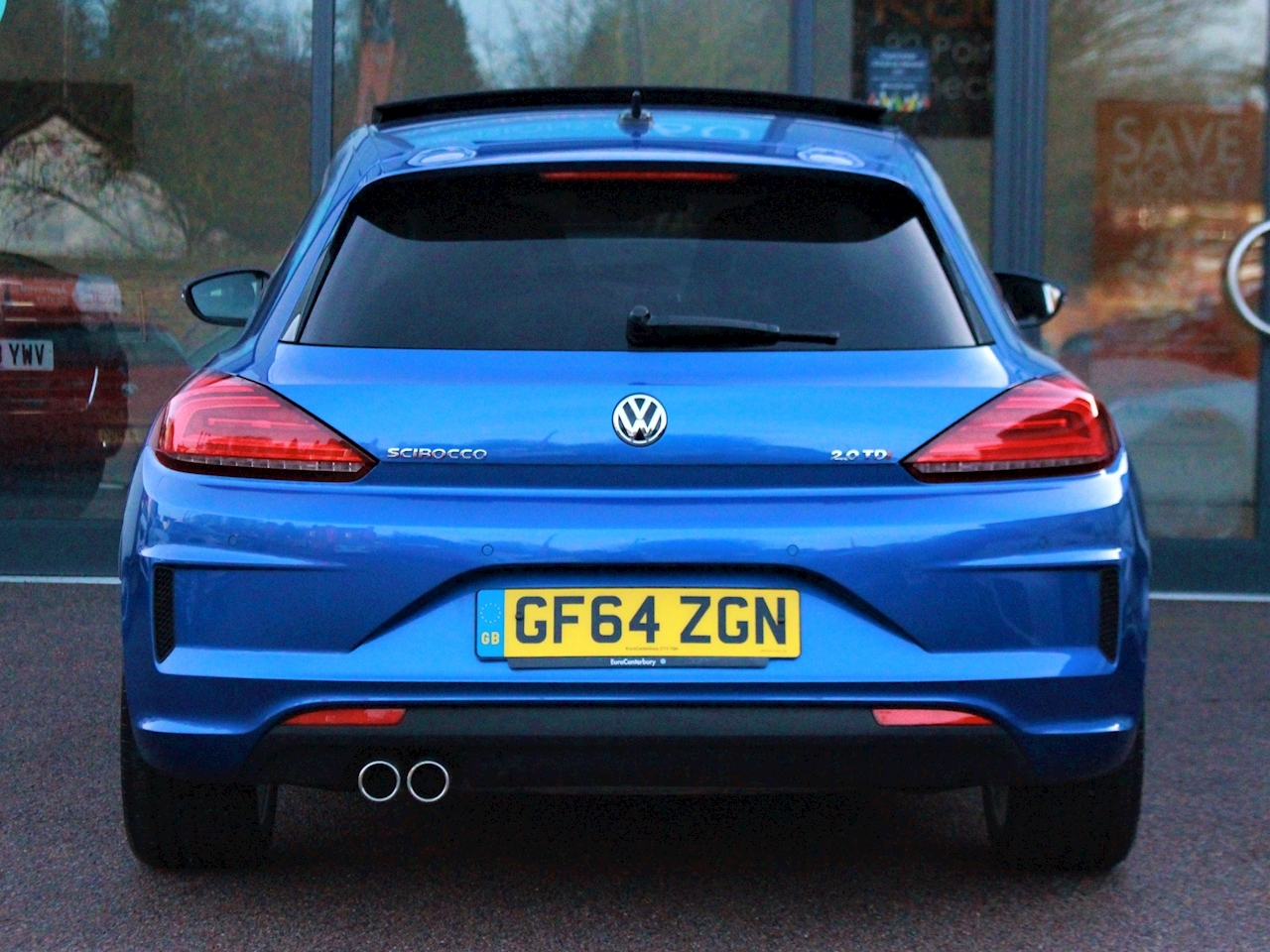 Volkswagen Scirocco R Line Tdi Bluemotion Technology Dsg - Large 9