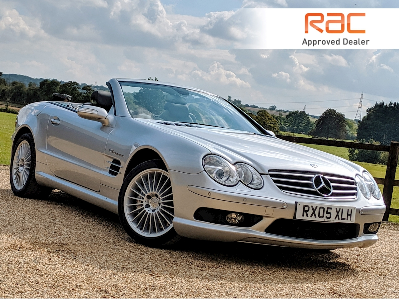 Mercedes-Benz Sl Sl 55 Amg Kompressor - Large 0