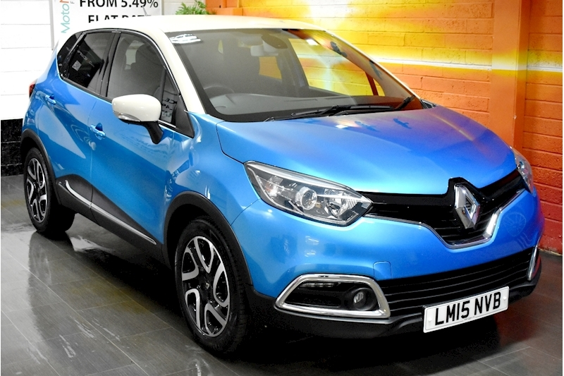 Renault Captur 1.5 DCi 90 Dynamique S Medianav (s/s) 5dr Manual