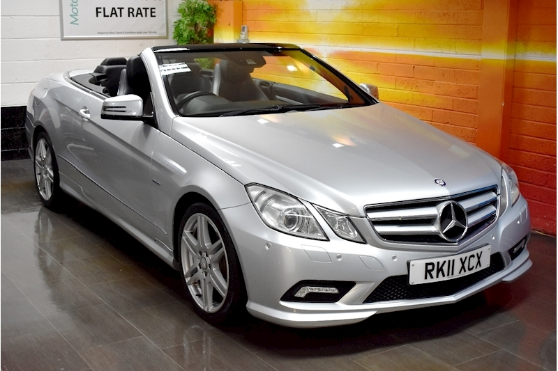 Mercedes-Benz E Class E250 CDI AMG SPORT Cabriolet 2dr Auto (Air Scarf, Heated Seats)