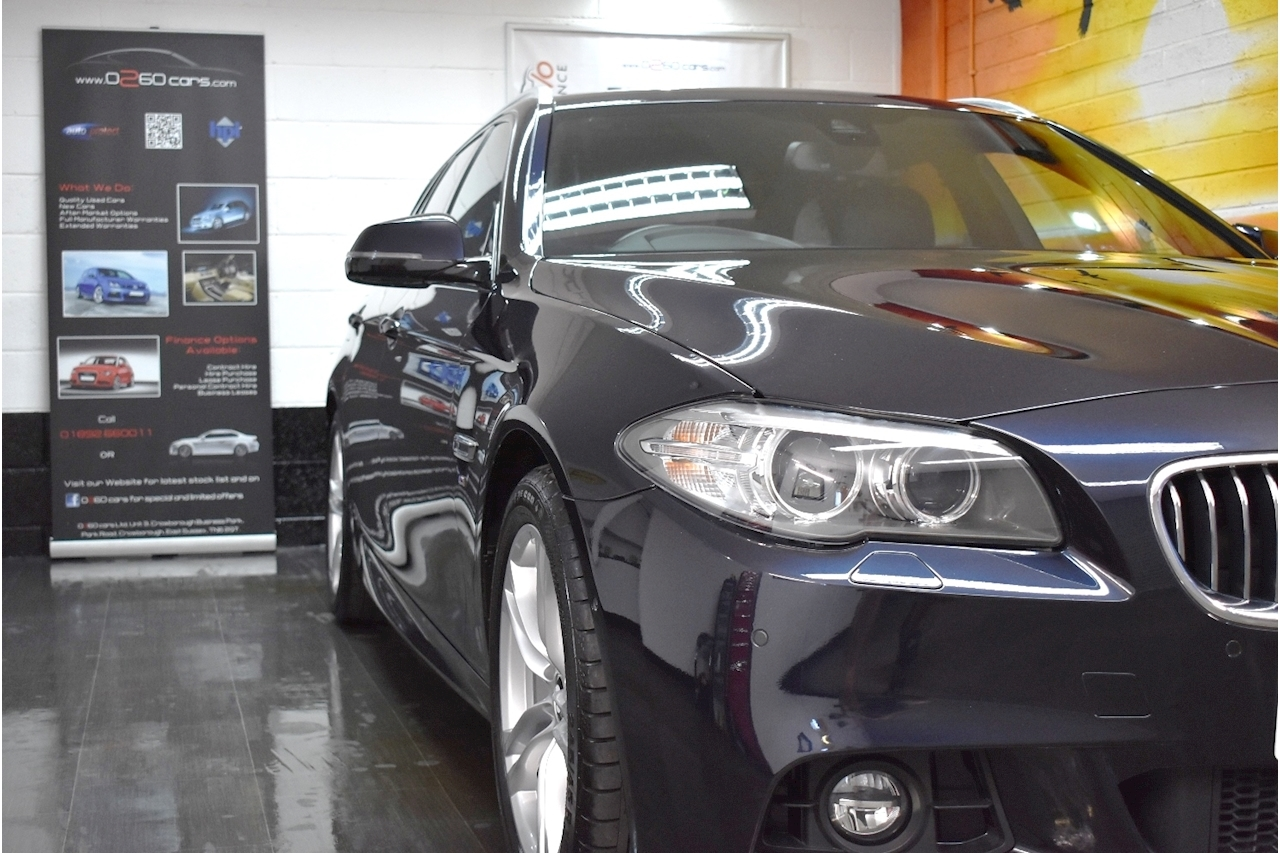 BMW 5 Series 520d (190) M Sport (FACELIFT MODEL) Touring 5dr Auto 2.0 5dr Touring Automatic Diesel