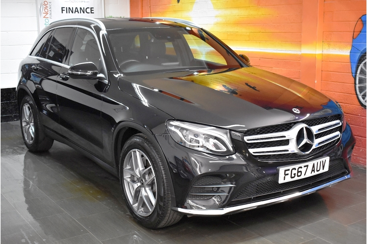 GLC Class 220d 4Matic (4x4) AMG Line 5dr 9G-Tronic 2.1 5dr SUV G-Tronic Diesel