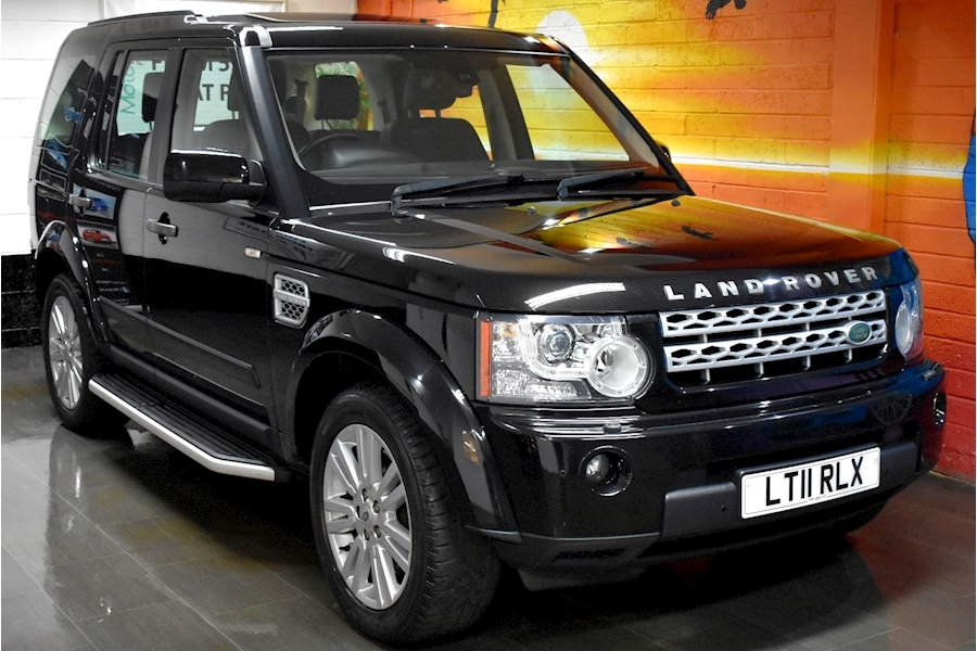 Land Rover Discovery 4 3.0 SDV6 HSE (4x4) 5dr Auto (MASSIVE SPEC)