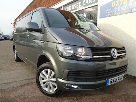 Volkswagen Transporter T32 Tdi P/V Highline Bmt Van With Side Windows 2.0 Semi Auto Diesel