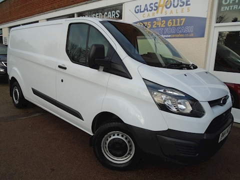 Ford Transit Custom 290 Lr P/V Panel Van 2.2 Manual Diesel