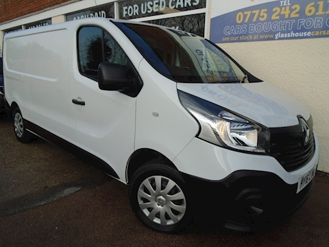 Renault Trafic Ll29 Business Dci S/R P/V Panel Van 1.6 Manual Diesel