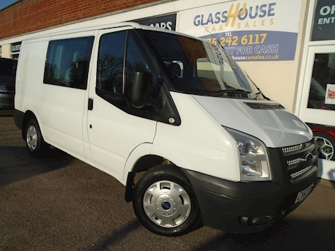 Ford Transit 280 Lr Dcb Van With Side Windows 2.2 Manual Diesel