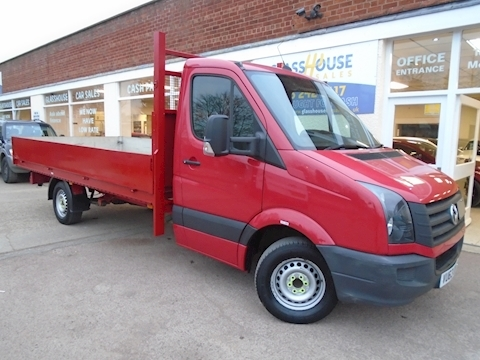Volkswagen Crafter Cr35 Tdi C/C Startline Dropside Lorry 2.0 Manual Diesel