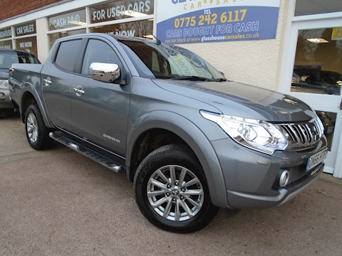 Mitsubishi L200 Di-D 4X4 Barbarian Dcb Pick-Up 2.4 Manual Diesel