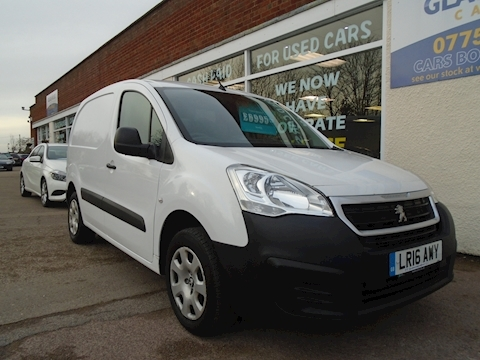 Peugeot Partner Hdi Professional 625 Panel Van 1.6 Manual Diesel