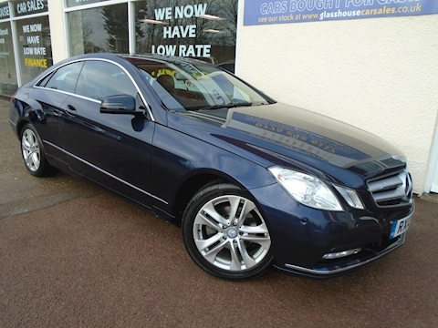Mercedes-Benz E Class E200 Cgi Blueefficiency Se Coupe 1.8 Manual Petrol