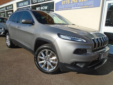 Jeep Cherokee M-Jet Ii Limited Estate 2.2 Automatic Diesel