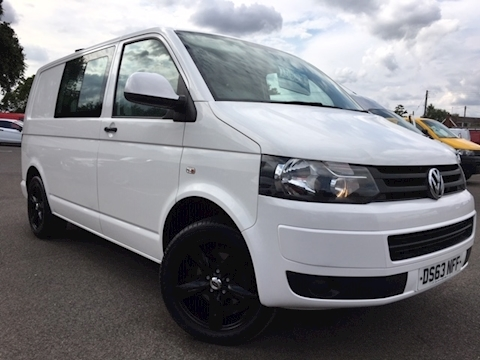 Volkswagen Transporter T30 Tdi Kombi Startline Van With Side Windows 2.0 Manual Diesel