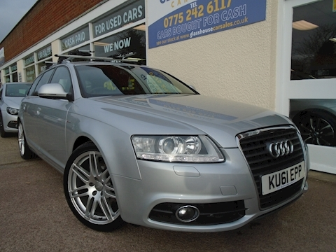 Audi A6 Avant Tdi S Line Special Edition Estate 2.0 Manual Diesel