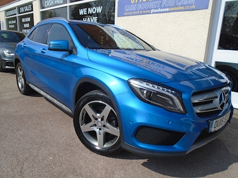 Mercedes-Benz Gla-Class Gla200 Cdi 4Matic Amg Line Premium Estate 2.1 Automatic Diesel