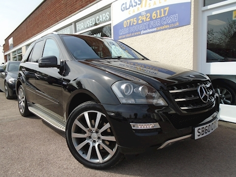 Mercedes-Benz M-Class Ml300 Cdi Blueefficiency Grand Edition Estate 3.0 Automatic Diesel