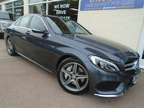 Mercedes-Benz C Class C250 Bluetec Amg Line Premium Plus Saloon 2.1 Automatic Diesel