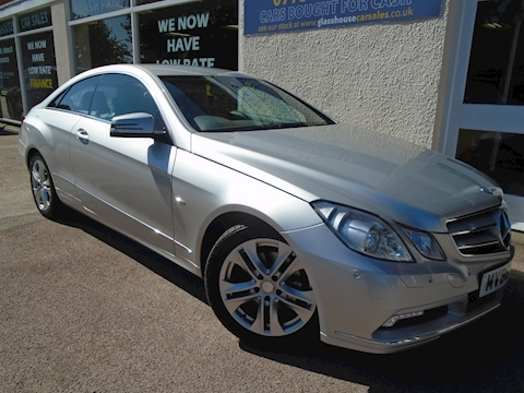 Mercedes-Benz E Class E250 Cgi Blueefficiency Se Coupe 1.8 Automatic Petrol