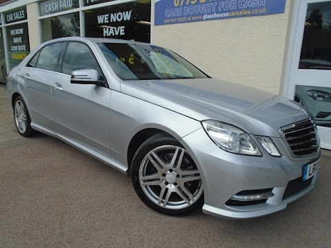 Mercedes-Benz E Class E250 Cdi Blueefficiency Sport Saloon 2.1 Automatic Diesel