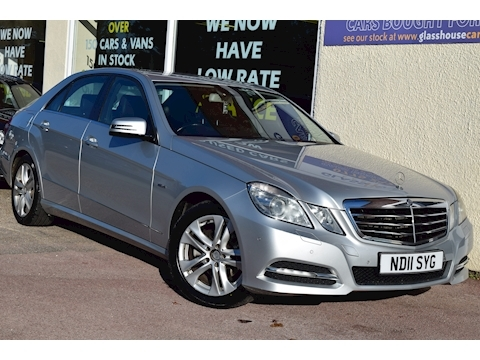 Mercedes-Benz E Class E220 Cdi Blueefficiency Avantgarde Saloon 2.1 Automatic Diesel