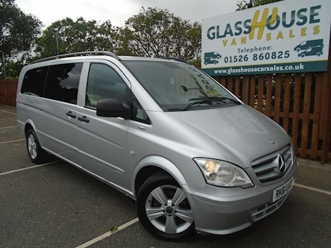 Mercedes-Benz Vito 122 Cdi Traveliner Van With Side Windows 3.0 Manual Diesel